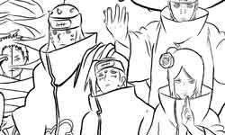 Naruto Contre L'akatsuki